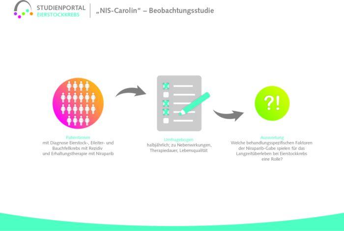 NIS CAROLIN Deutsche Stiftung Eierstockkrebs Studie Niraparib