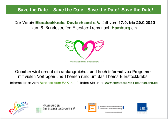 Verein Eierstockkrebs Deutschland e.V. Bundestreffen 2020