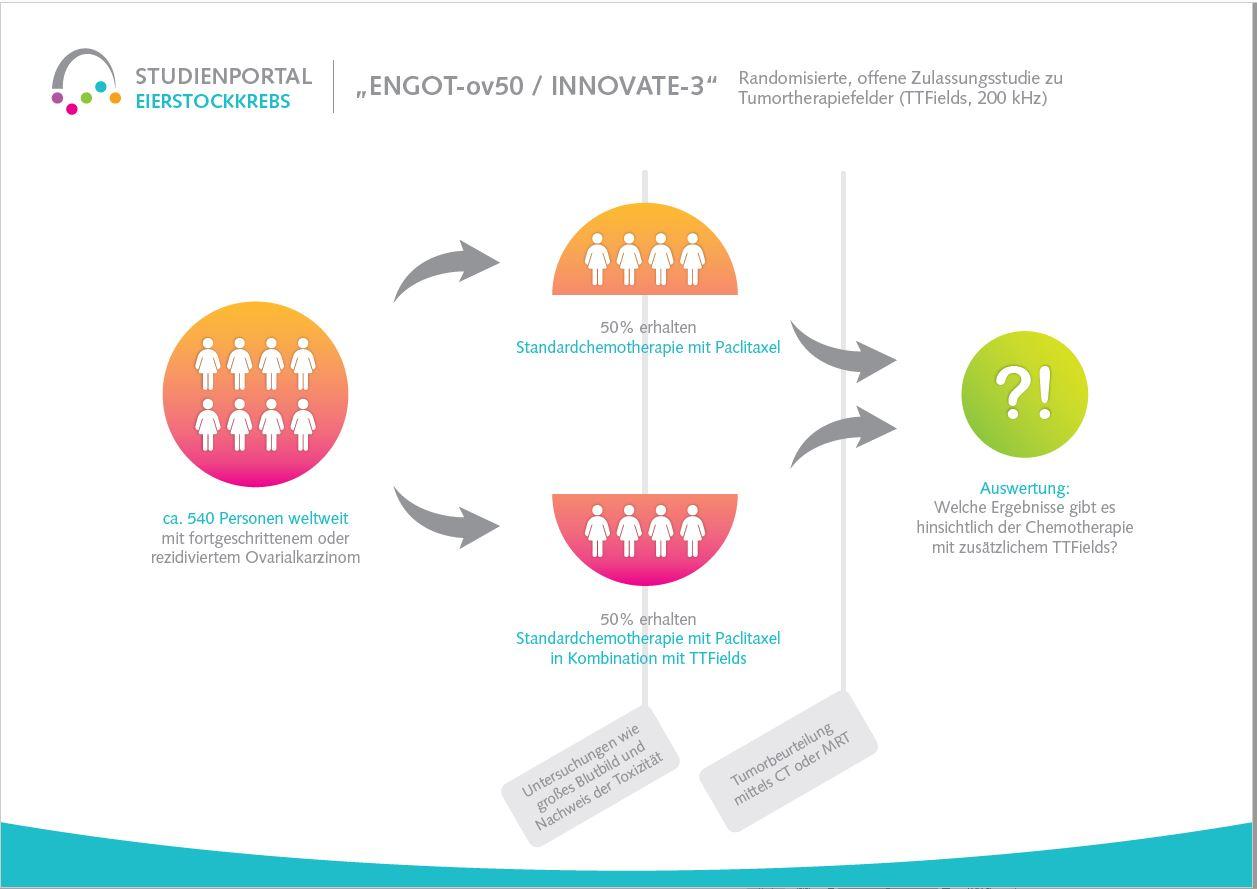 Studienportal Stiftung Eierstockkrebs Studie Engot50 Novocure